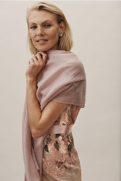 BHLDN Violet Grey Rue Pashmina | BHLDN
