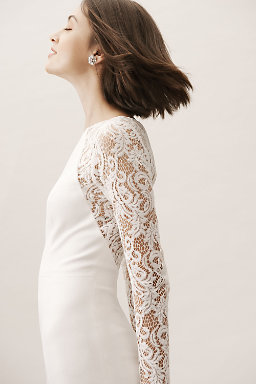 Long Sleeve Wedding Dresses | Long & Cap Sleeve | BHLDN