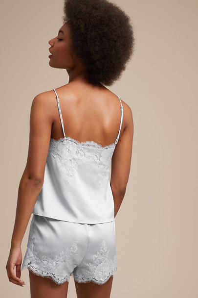 Homebodii Blue Olivia Cami & Short Set | BHLDN