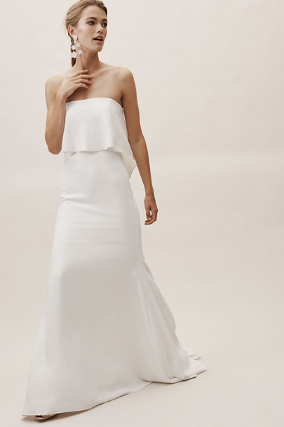 Whispers & Echoes Ivory Gramercy Gown | BHLDN