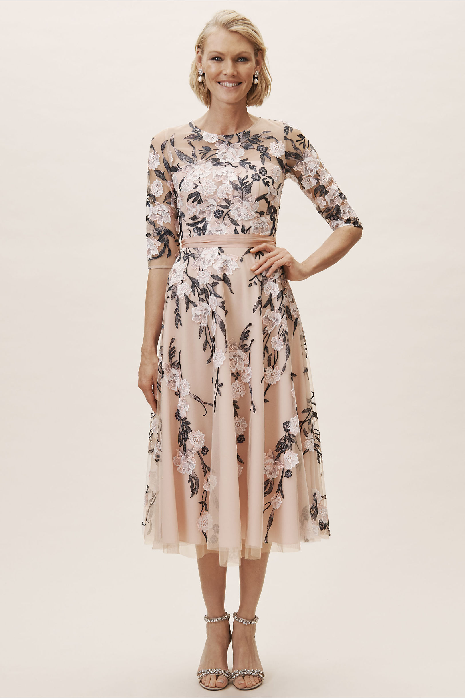 1950s Cocktail Dresses, Party Dresses BHLDN Linden Dress $280.00 AT vintagedancer.com
