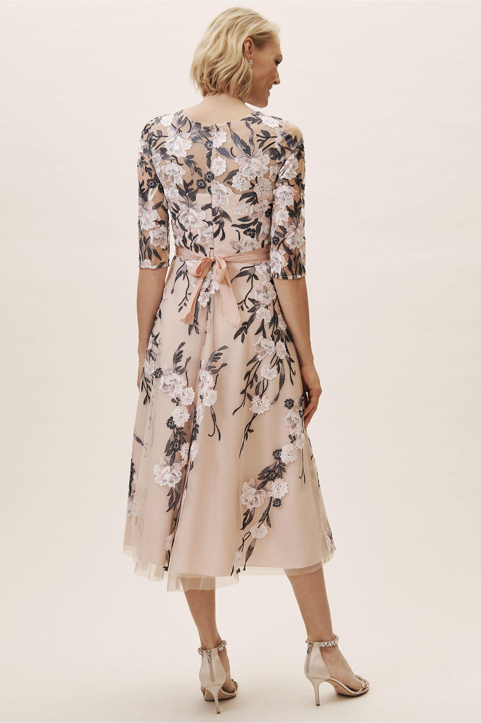 Linden Dress Blushnavy Multi In Bridesmaids Bridal Party Bhldn