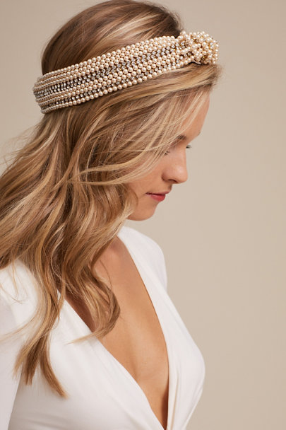 View larger image of Sirene Pearl Turban