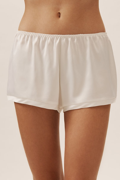 Rya Collection Ivory Heavenly Shorts | BHLDN