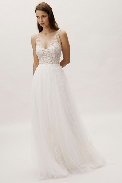 Whispers & Echoes Ivory Be True Gown | BHLDN