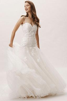 Romantic wedding dresses bhldn vesna gown junglespirit Choice Image