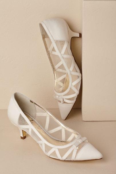 Vintage Inspired Wedding Dress | Vintage Style Wedding Dresses Lana Heels $109.00 AT vintagedancer.com