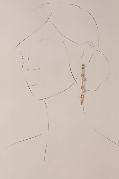 Theia Jewelry Gold Tasmin Drop Earrings | BHLDN