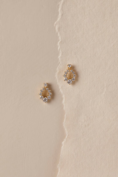 Jardin Gold Rumina Earrings | BHLDN