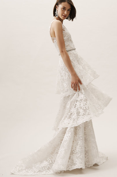 Theia Bridal Ivory Georgiana Gown | BHLDN