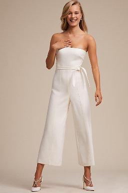 Beach wedding dresses bhldn isla jumpsuit junglespirit Gallery