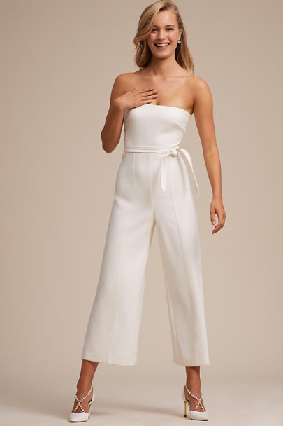 Likely Ivory Isla Jumpsuit | BHLDN