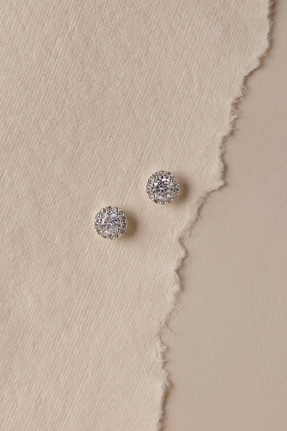 Nadri Silver Hippolyta Earrings | BHLDN