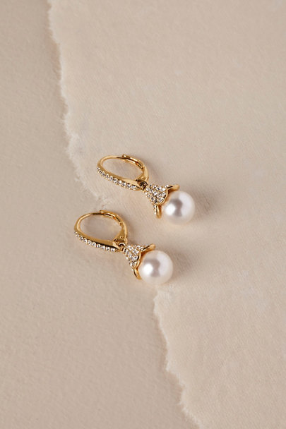 Nadri Gold Nastasia Drop Earrings | BHLDN
