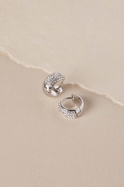 Nadri Silver Tait Earrings | BHLDN