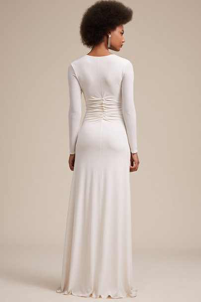 Halston Chalk Kayes Dress | BHLDN