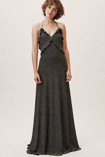 Jill Jill Stuart Metallic Stripe Beck Dress | BHLDN