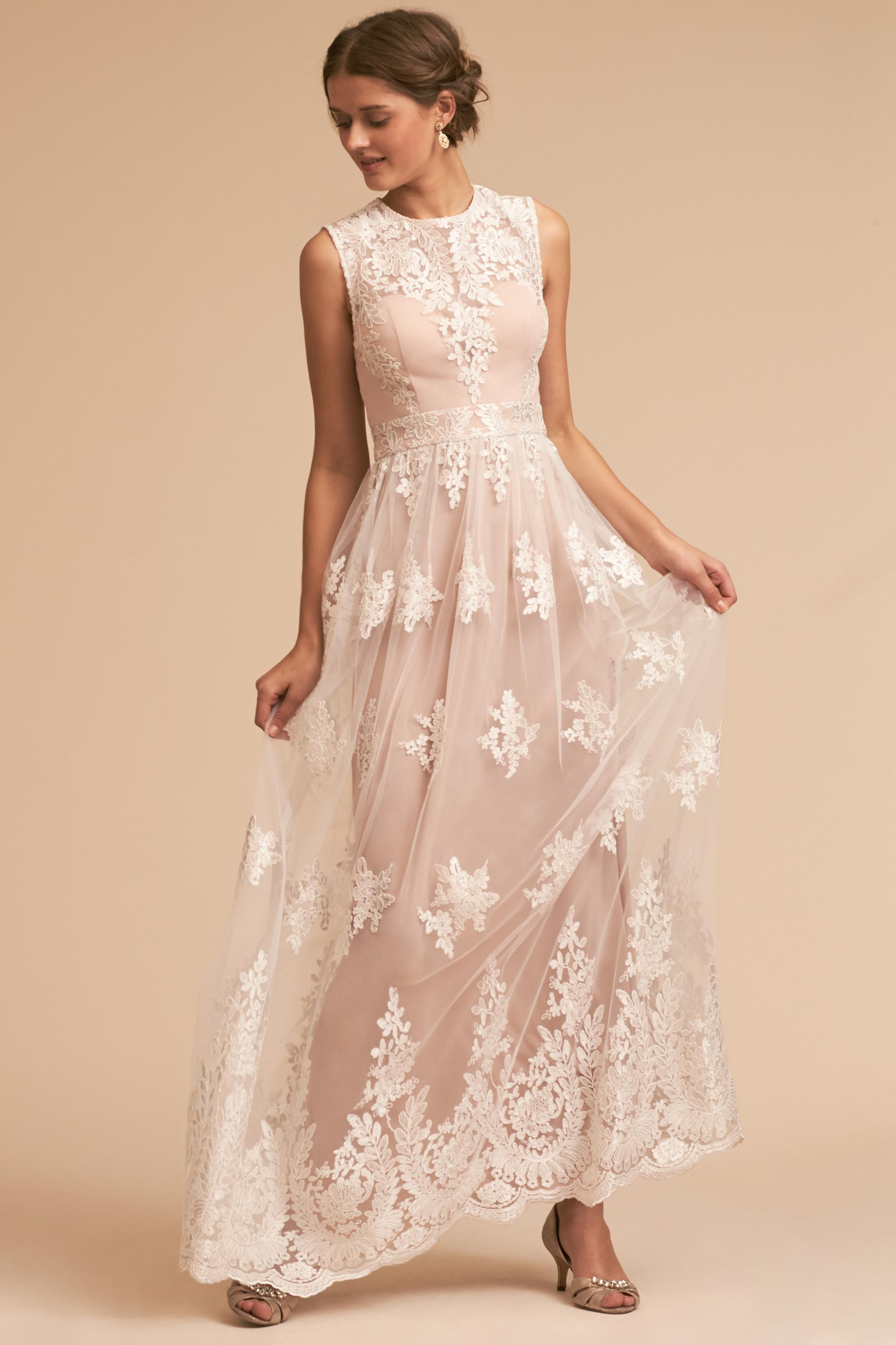 Vintage Lace Wedding Dresses Lace Wedding Gowns BHLDN