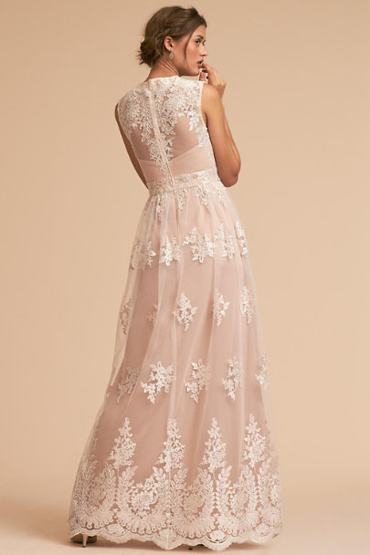 BHLDN Ivory Malcolm Dress | BHLDN