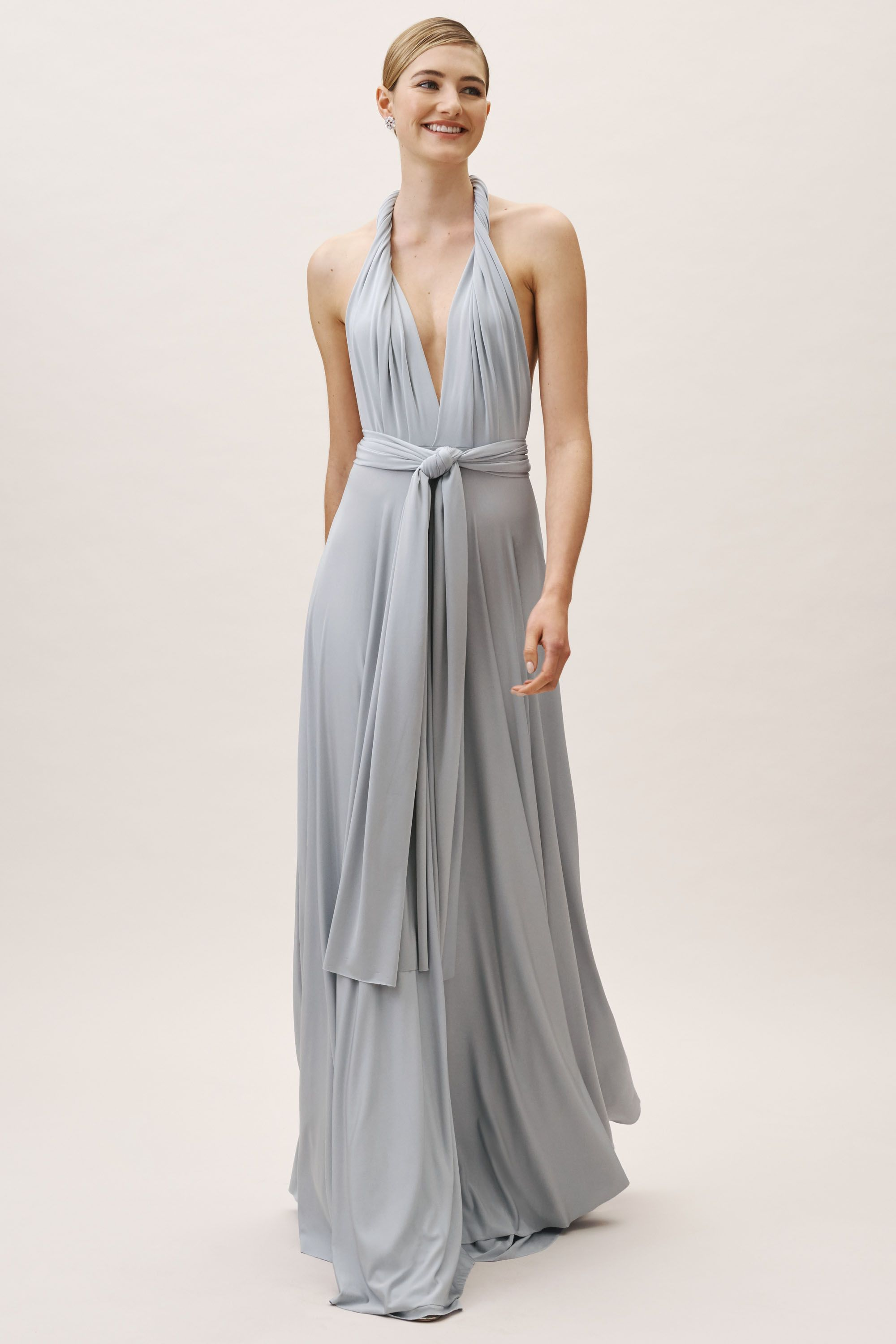dbab5fa6842 BHLDN's twobirds Ginger Convertible Maxi Dress in Fog
