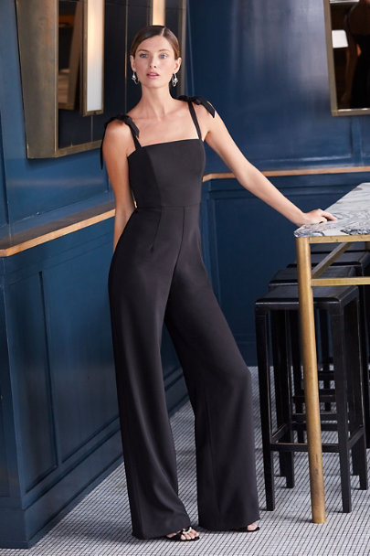 0c9b017a1bf6 ... Theia Black Trinity Jumpsuit