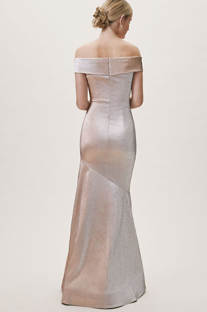 Theia Bridal Silver/Rose Cyra Dress | BHLDN