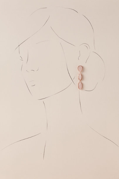 Jardin Rose Gloriann Drop Earrings | BHLDN