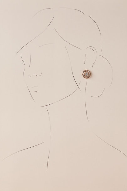 Gold Saxon Earrings | BHLDN