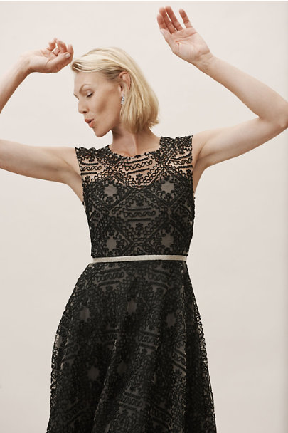 BHLDN Black Presley Dress | BHLDN