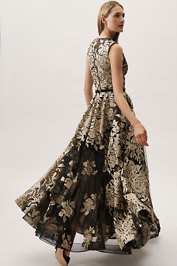 Golden Rose Ballgown