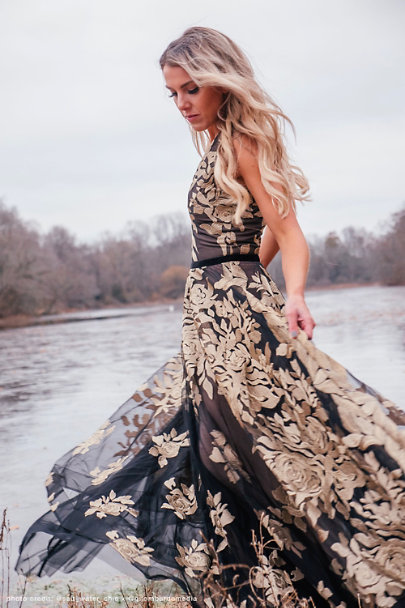 View larger image of Golden Rose Ballgown