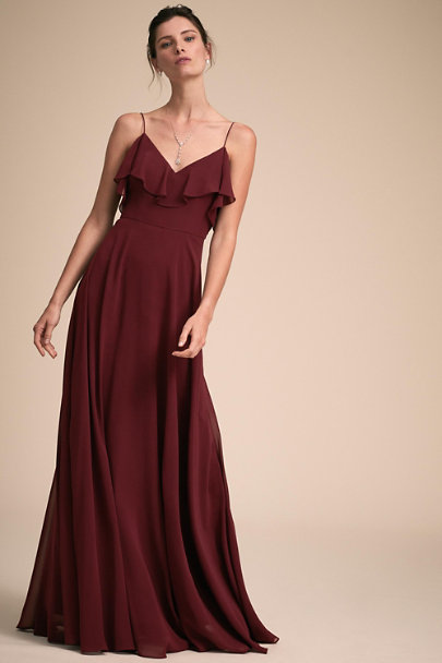 Jenny Yoo Hibiscus Mila Dress | BHLDN