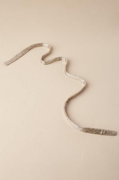 Moyna Silver Gloriana Belt | BHLDN