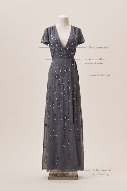 BHLDN Hydrangea Plymouth Dress | BHLDN