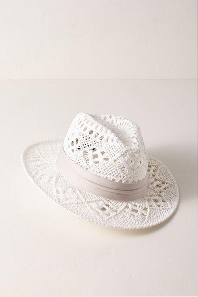 0b1327422c7 L Space White Jetsetter Panama Hat