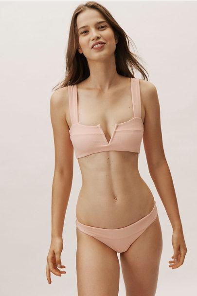 Pink Veronica Bikini Bottoms Bhldn