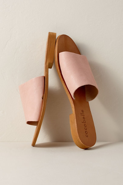 Cocobelle Pink Cocobelle Bhea Slides | BHLDN