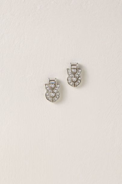 Ben-Amun Silver Kade Post Earrings | BHLDN