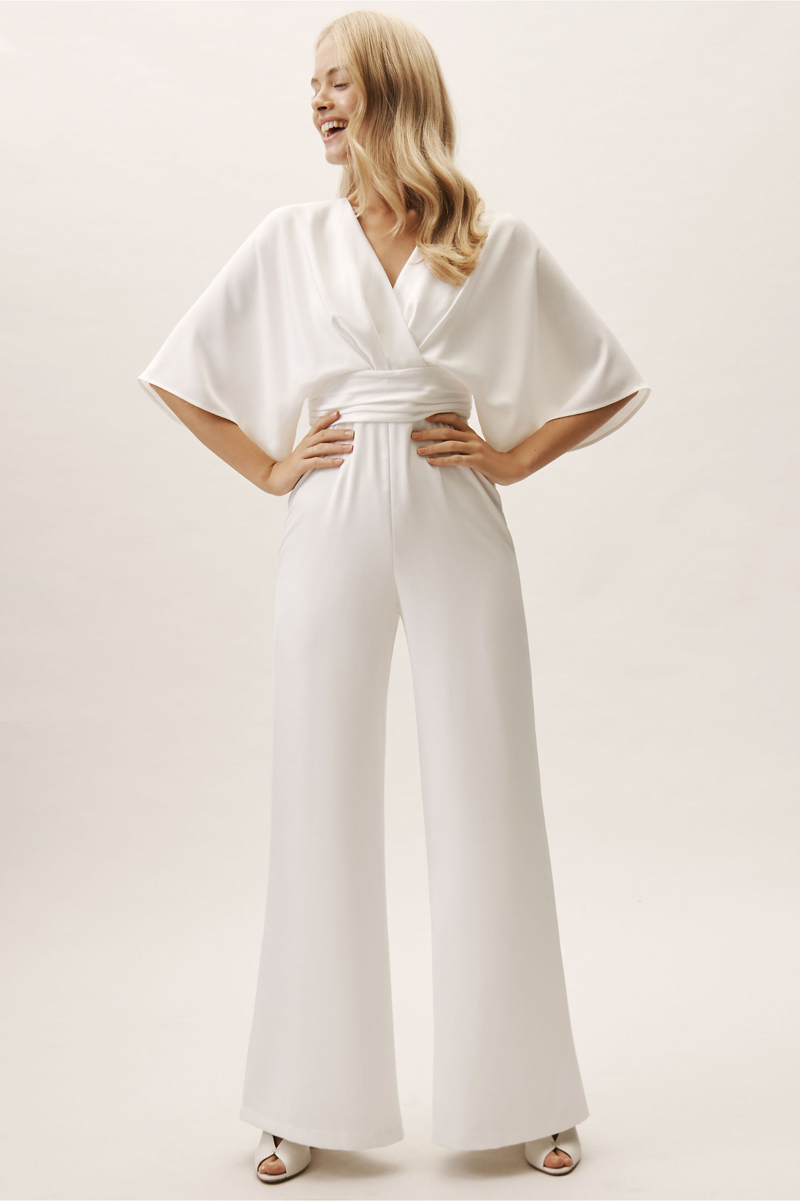 70s Prom, Formal, Evening, Party Dresses Kenneth Jumpsuit $425.00 AT vintagedancer.com