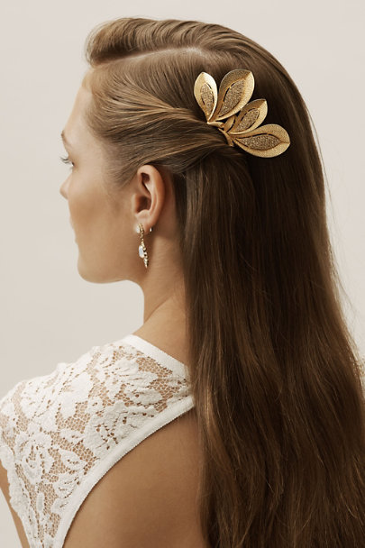 Ben-Amun Gold Rania Hair Comb | BHLDN