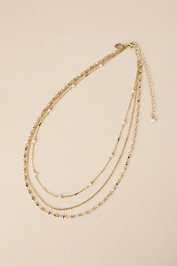 Waller Layered Chain Necklace