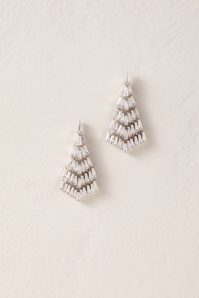 Amy O. Silver Saville Chandelier Earrings | BHLDN