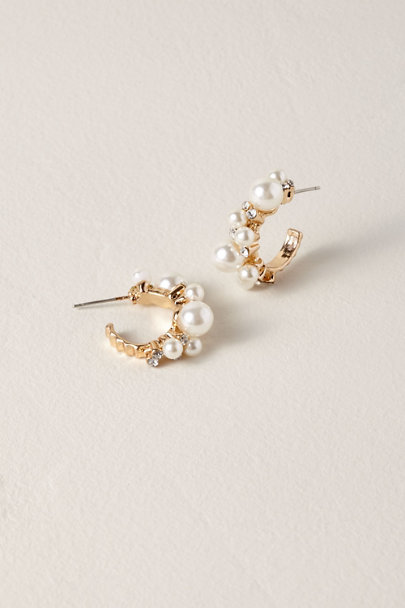 Saachi Gold Valery Hoop Earrings | BHLDN