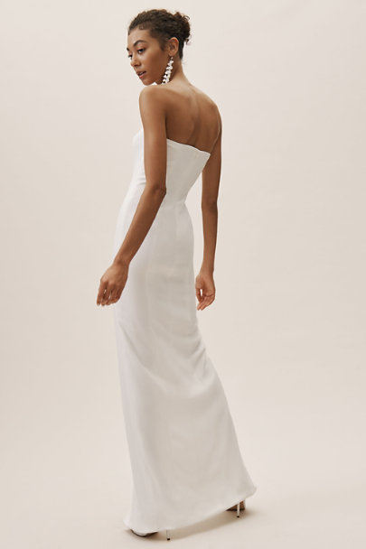 Jay Godfrey Ivory Garcia Dress | BHLDN