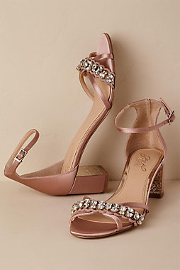 Jewel by Badgley Mischka Giona Block Heels