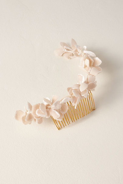 Luna Bea Pink Millais Hair Comb | BHLDN