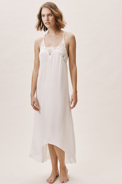 Flora Nikrooz Ivory Luela Nightgown | BHLDN