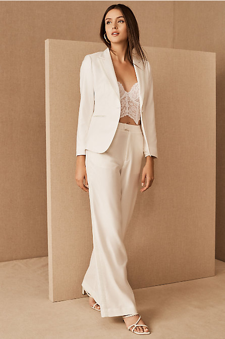 The Tailory New York x BHLDN Joanie Suit Jacket & Pant