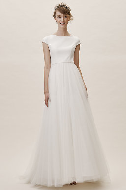 7dd5415366 Modern Wedding Dresses   Structured Gowns