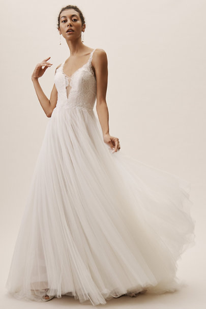 Wtoo by Watters Ivory Mercer Gown | BHLDN